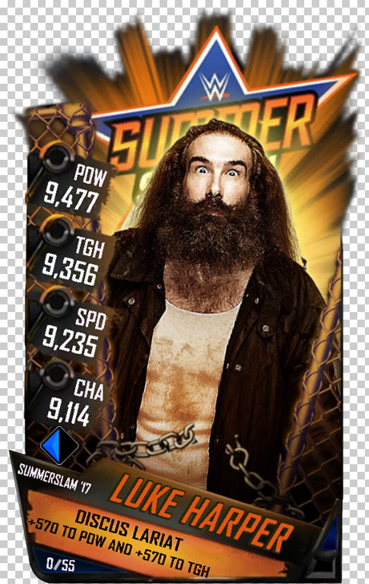 Luke Gallows SummerSlam (2015) WWE SuperCard Gallows and.