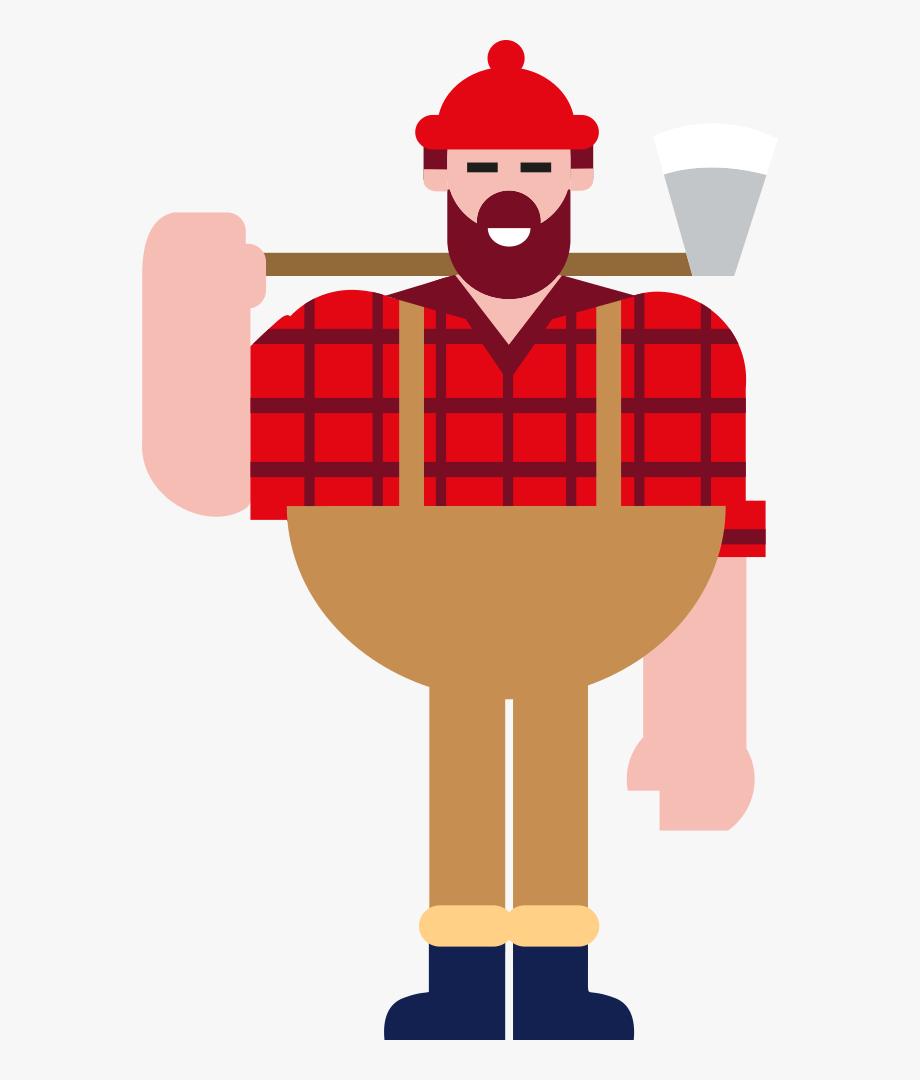 Clip Art Lumberjack, Cliparts & Cartoons.