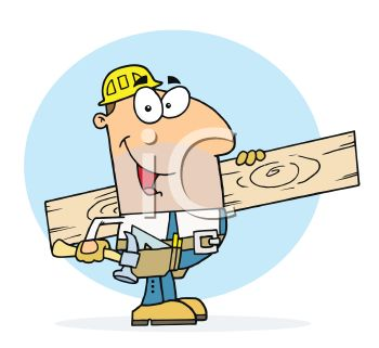 Man Lumber Clipart.