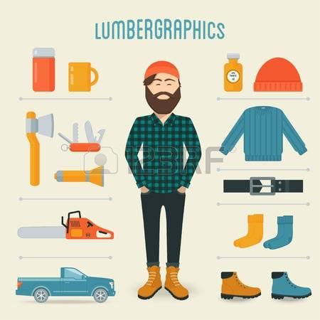 398 Lumberman Stock Vector Illustration And Royalty Free Lumberman.