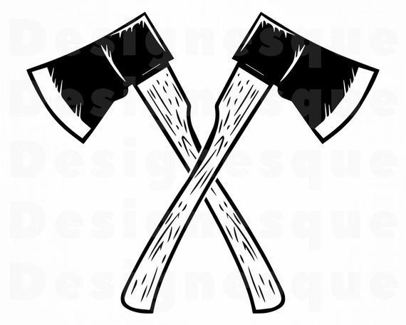 Lumberjack Logo #3 SVG, Axe Logo Svg, Axe Svg, Lumberjack SVG, Axe Clipart,  Axe Files for Cricut, Axe Cut Files For Silhouette, Dxf, Png Eps.