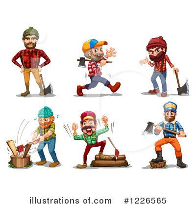 Lumberjack Clipart #1226565.
