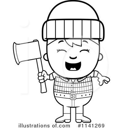 Lumberjack Clipart #1141269.