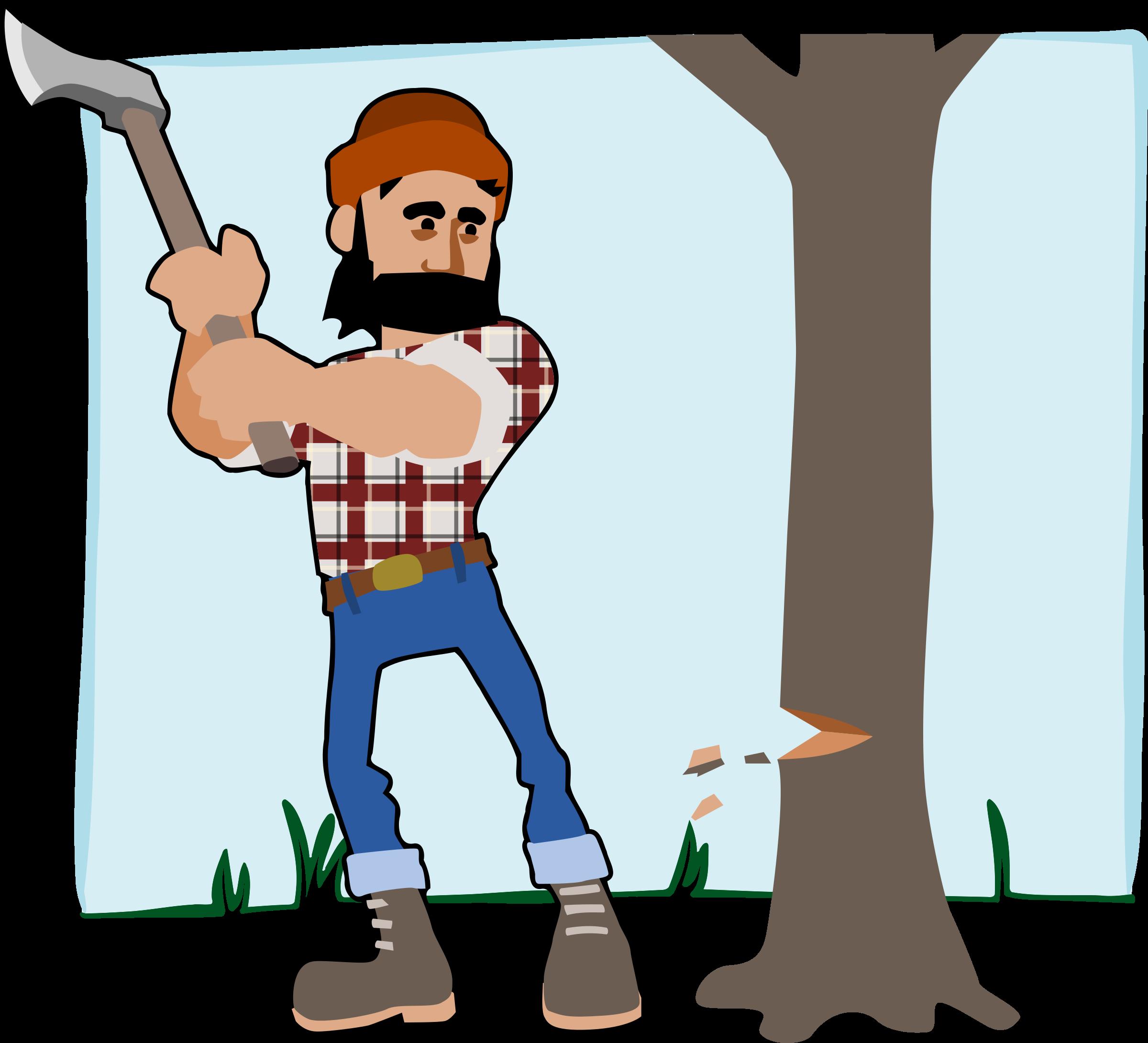 Lumberjack clipart - Clipground