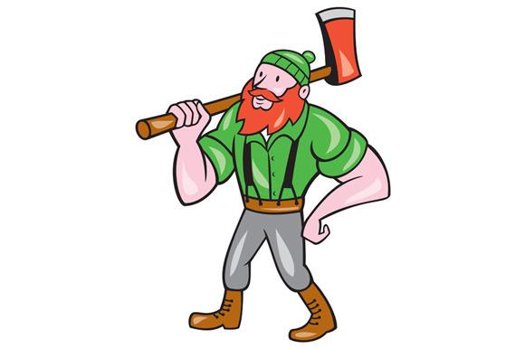 lumberjack man clipart - Clipground