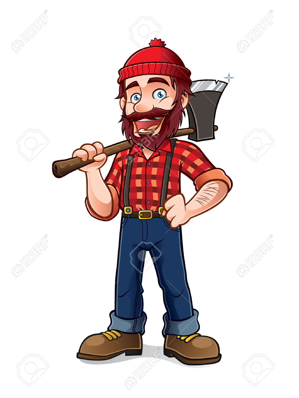 5,892 Lumberjack Stock Vector Illustration And Royalty Free.