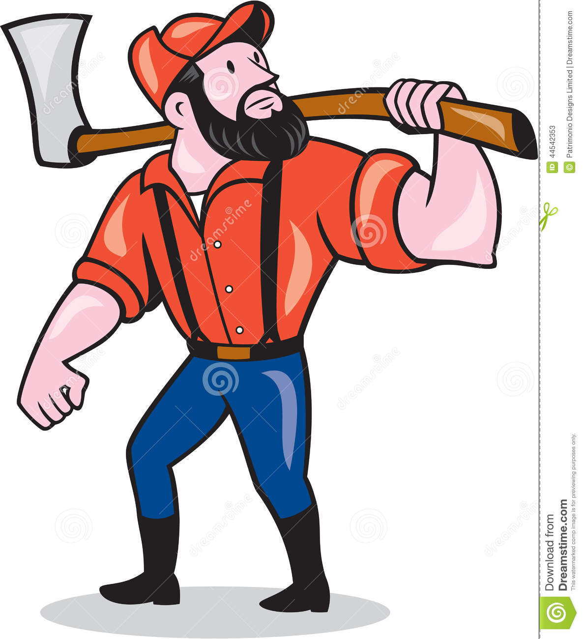 Free lumberjack clipart.