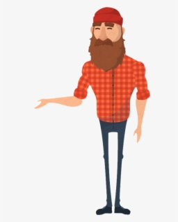 Free Lumberjack Clip Art with No Background.