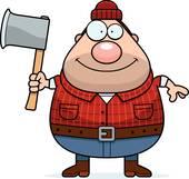 Royalty Free Lumberjack Clip Art.