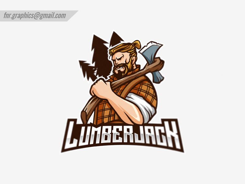 Lumberjack Mascot Logo by Fahrizal NR on Dribbble.