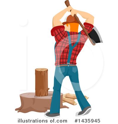 Lumberjack Clipart #1435945.