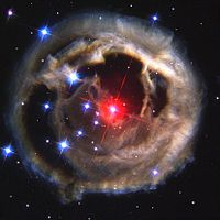 Luminous red nova.