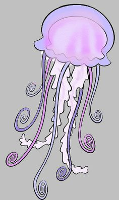 Luminous Jellyfish Clipart Clipground