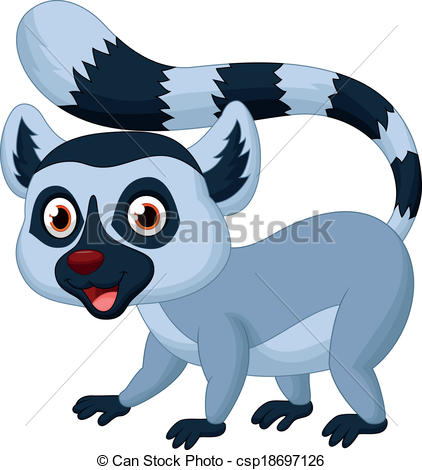 Lemur Vector Clipart Royalty Free. 565 Lemur clip art vector EPS.