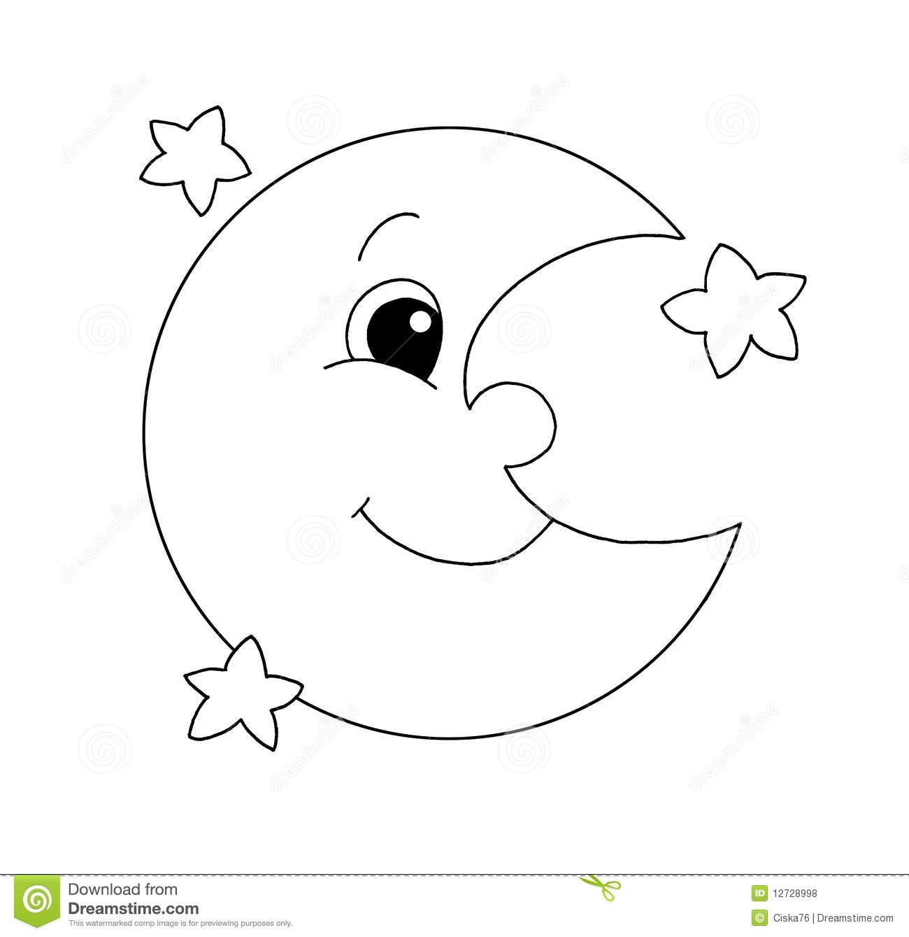 Luna Moon Clipart.