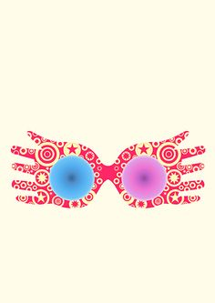 Luna lovegood glasses clipart Transparent pictures on F.
