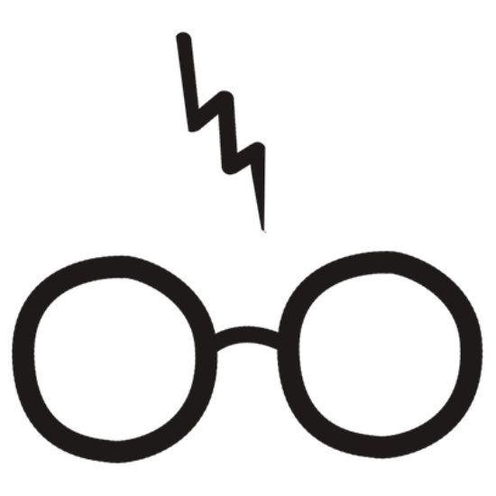 Harry potter glasses clipart.