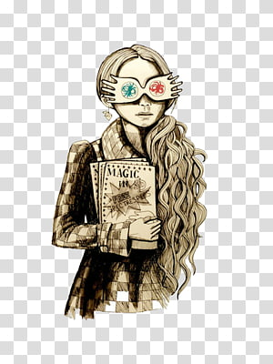 Luna Lovegood Hermione Granger Harry Potter and the Deathly.