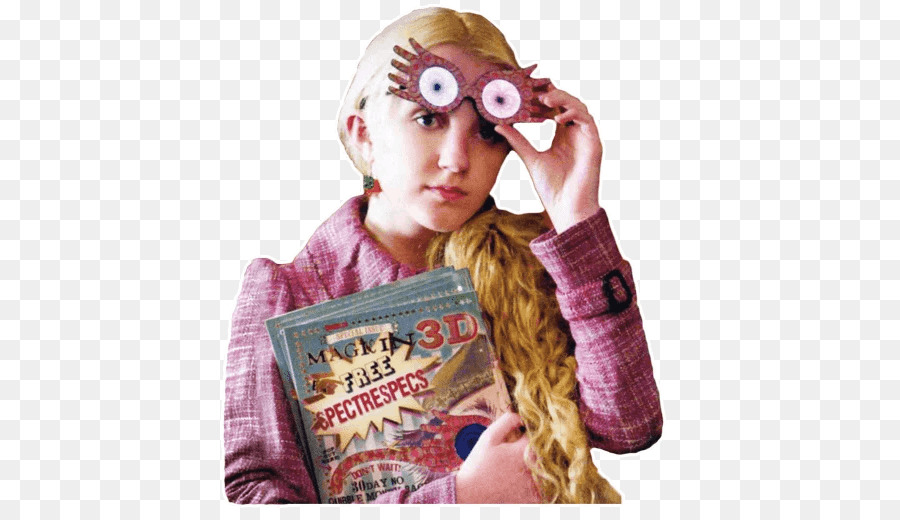 Luna Lovegood Eyewear png download.