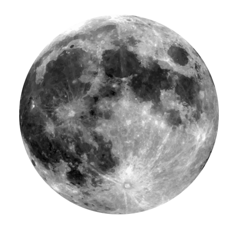 free moon clipart clipground