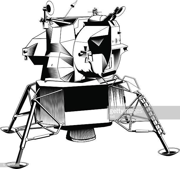 60 Top Lunar Module Stock Illustrations, Clip art, Cartoons.