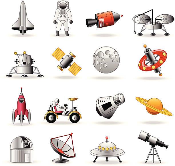 Best Lunar Module Illustrations, Royalty.