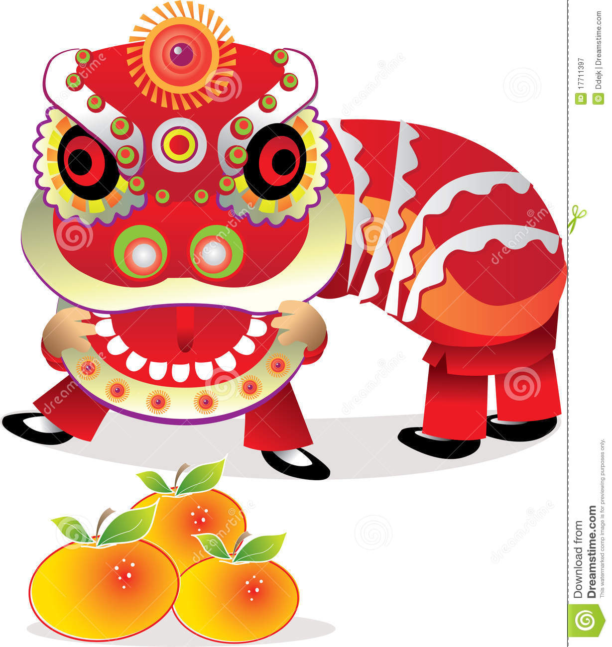 Lunar new year clipart free.