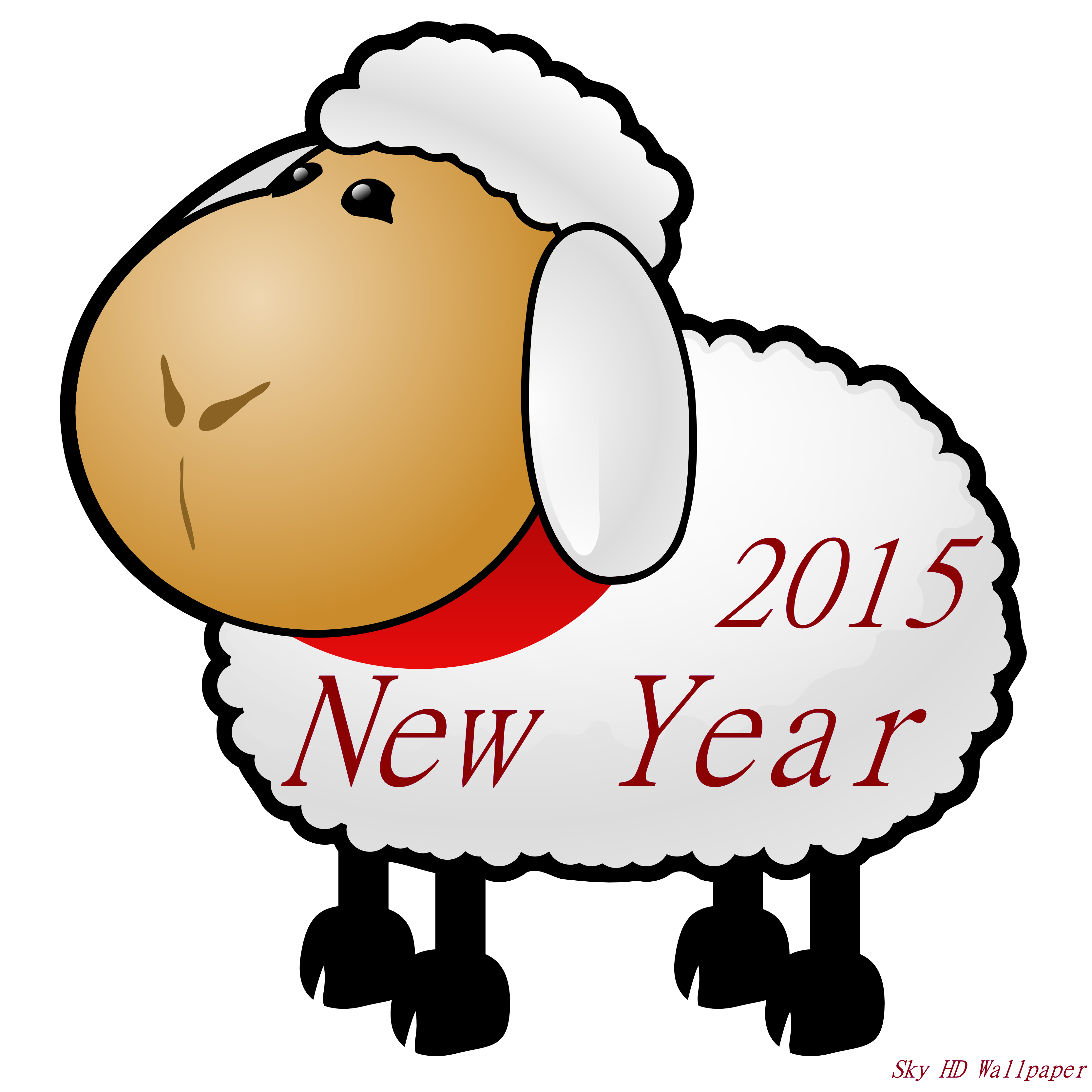 Chinese New Year 2015 Clipart.