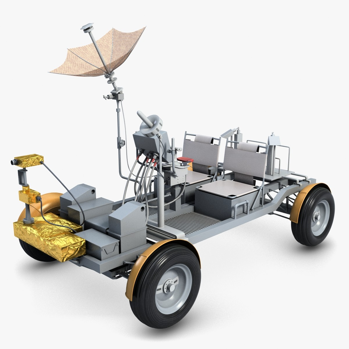Moon Rover Model Car (page 2).