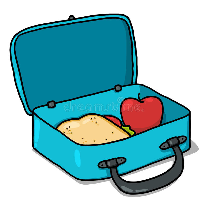 Lunch Box Stock Illustrations.