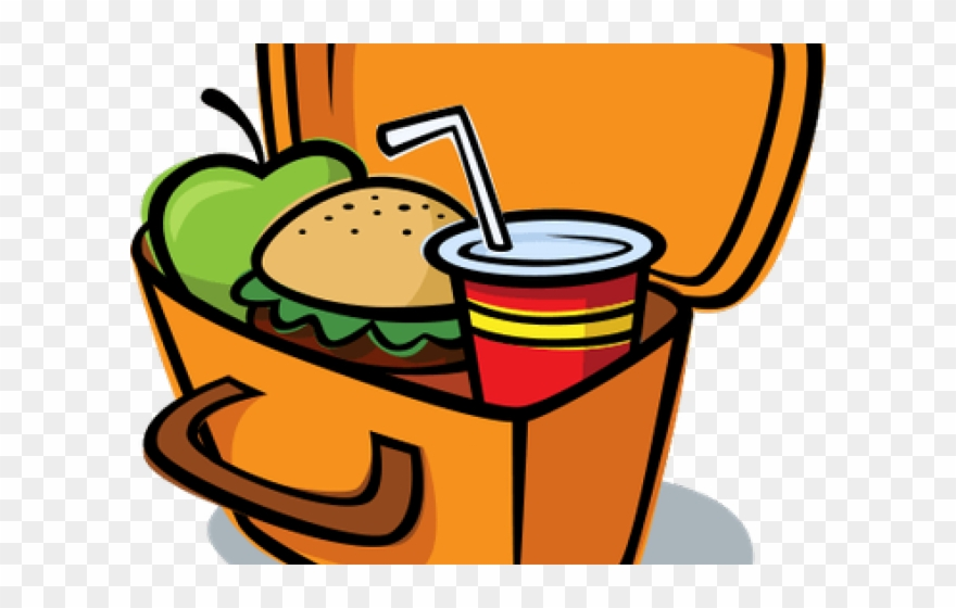 Lunch Box Clipart Cute.