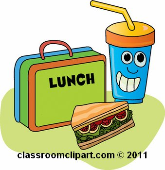 Lunch food clipart.