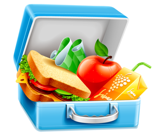 Free Clip art of Healthy Lunch Clipart #2353 Best Picnic Bag.