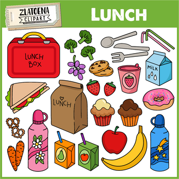 Lunch clip art / Food clip art.