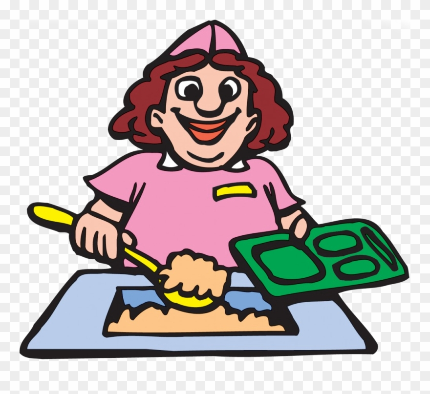 Lunch Lady Clipart.