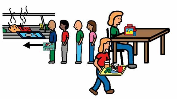 Lunchbox clipart school lunch line, Lunchbox school lunch.