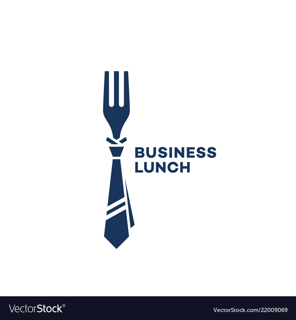 Business lunch logo.