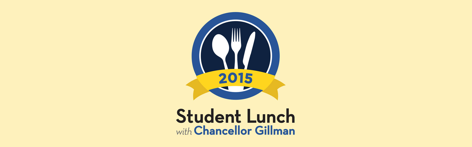 Chancellor lunch logo.