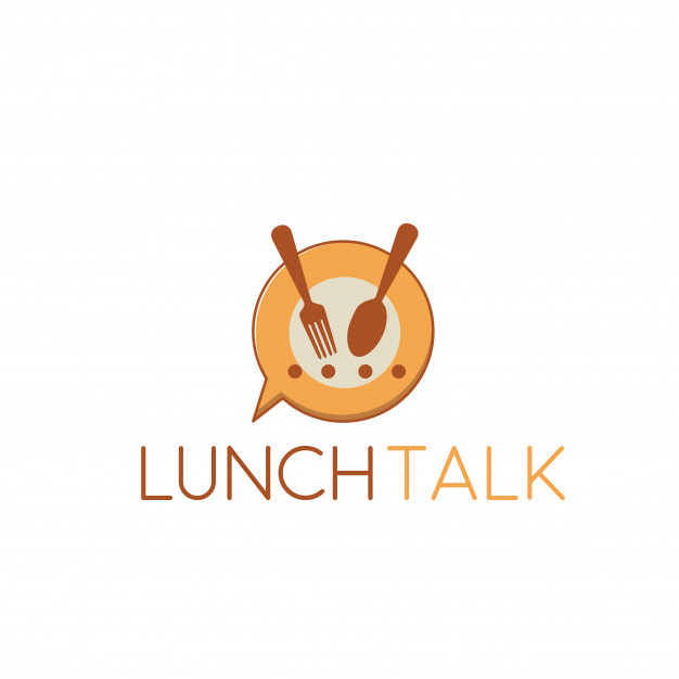 Lunch logo Vector.