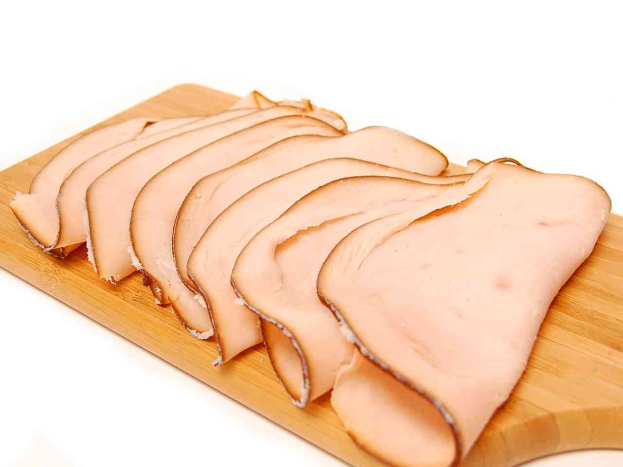 Turkey lunch meat clipart.