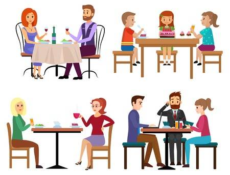 580 Business Lunch Meeting Stock Illustrations, Cliparts And.