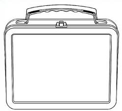 Free Lunch box Clipart.