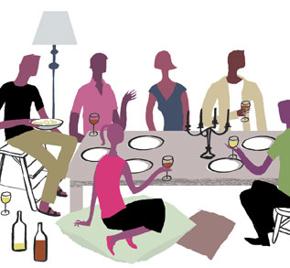 Dinner Party Clip Art & Dinner Party Clip Art Clip Art Images.