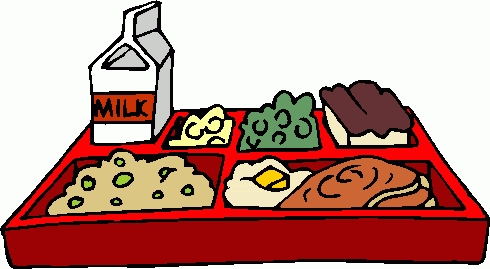 Lunch Tray Clipart.