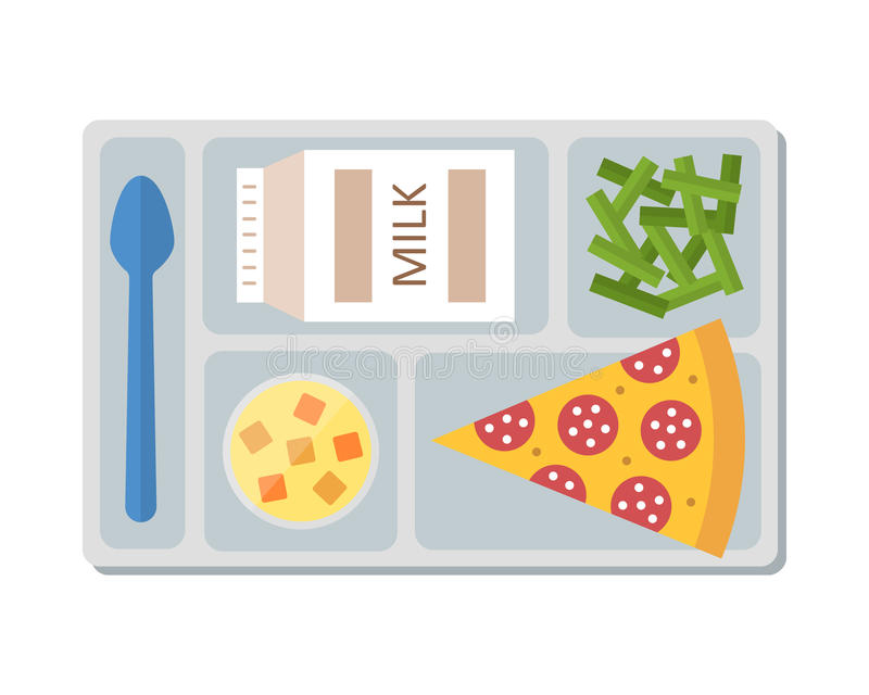 Lunch Tray Stock Illustrations.