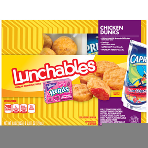 Lunchables Chicken Nuggets.