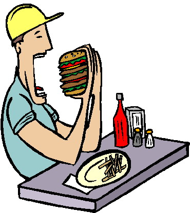 Eating lunch clipart free clipart images 2.