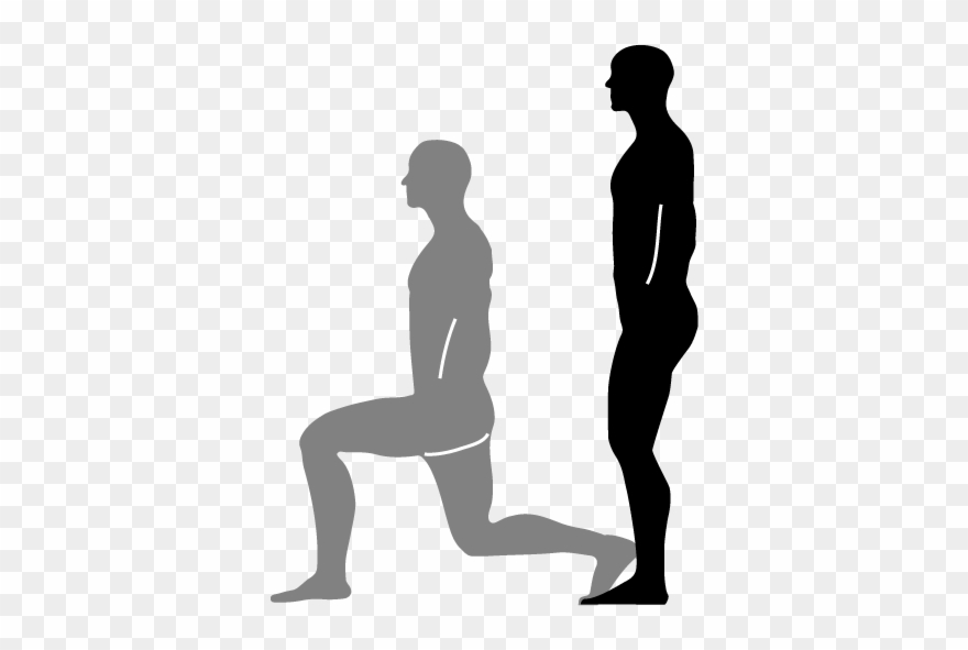 Lunges Level Pinterest And Workout Clipart (#2372010.