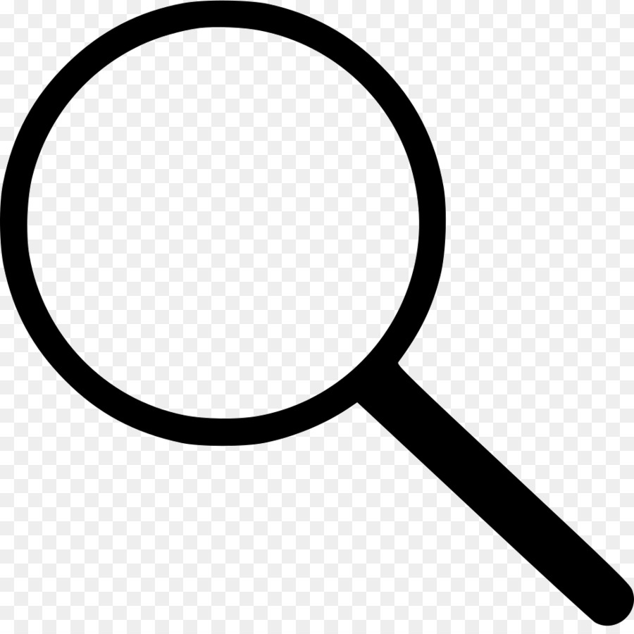 Magnifying Glass Symbol clipart.