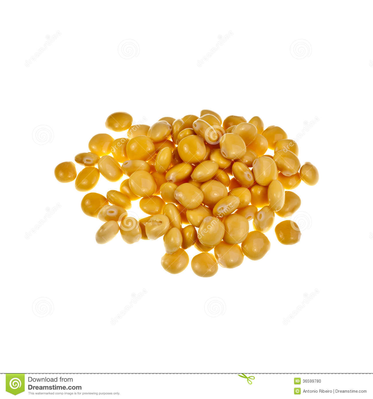 Lupin Or Lupini Beans Royalty Free Stock Photos.